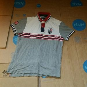 Tommy Hilfiger custom fit USA Embroidered Polo